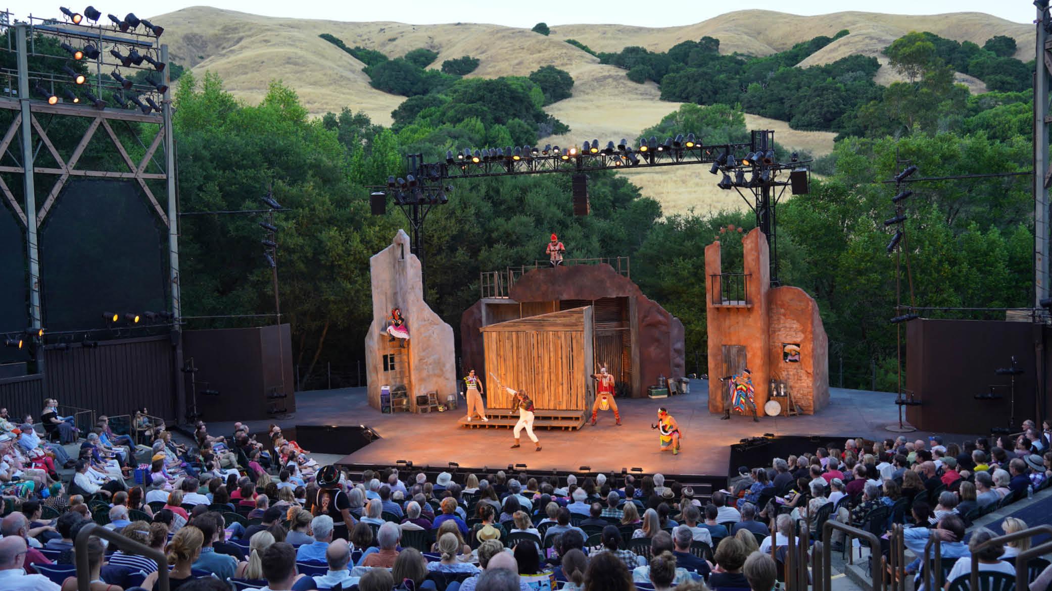 Cal Shakes' 2018 production of Octavio Solis' Quixote Nuevo