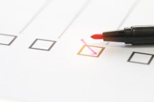 pen checkmark box
