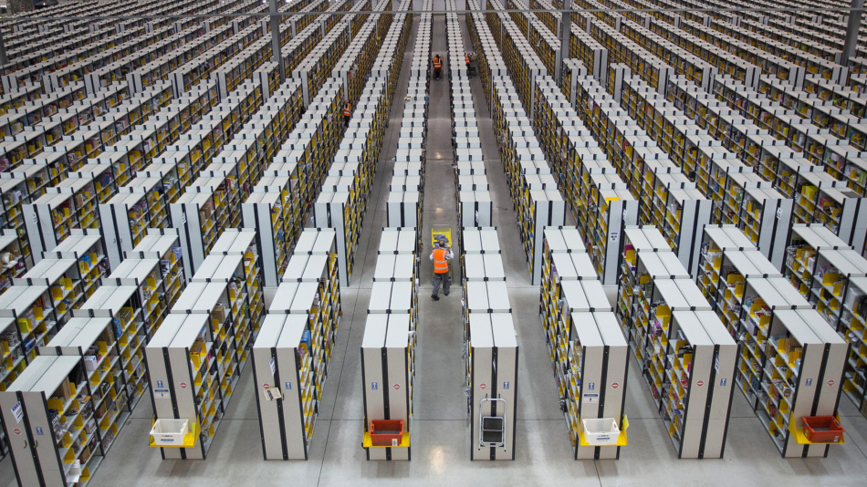 Operations At An Amazon.com Inc. Fulfillment Centre And An Argos Distribution Warehouse On Cyber Monday