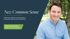 New Common Sense Gabriel Zucman